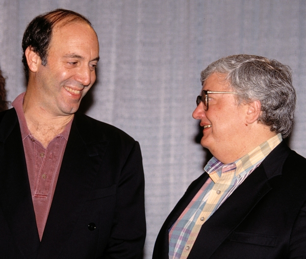 Gene Siskel and Roger Ebert Attending the N.A.T.P.E. TV Convention in Las Vegas January 1995