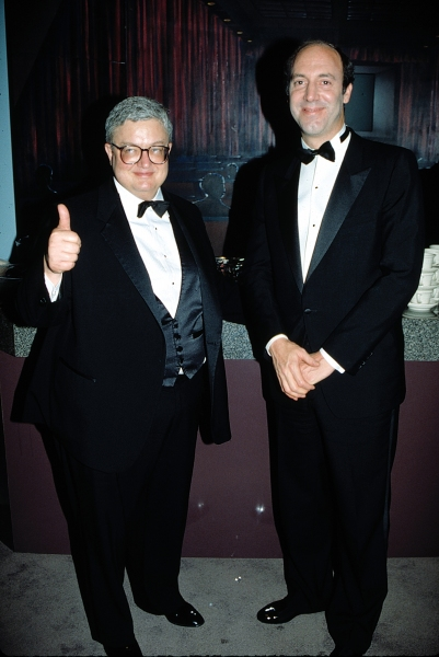 Gene Siskel and Roger Ebert Attending the N.A.T.P.E. TV Convention in New Orleans January 1990