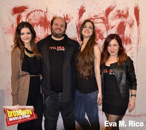 Carolina Moran, Cesar Belda, Teresa Abarca y Ali Sawa