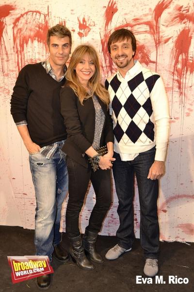 Javier Arroyo, Maria Adamuz y Armando Pita