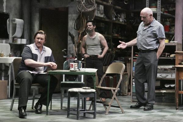 Ron Eldard, Freddy Rodriguez and Bill Smitrovich