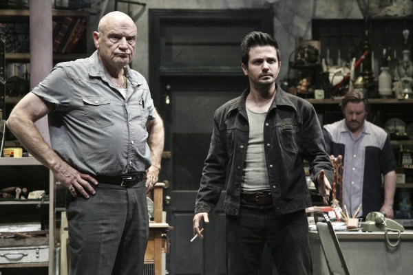 Bill Smitrovich, Freddy Rodriguez and Ron Eldard