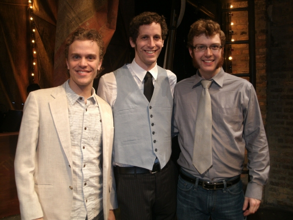 Christian Libonati, Nathan Drackett and Ryan Westwood