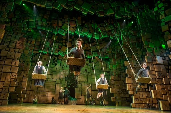 Photo Flash: First Look at Bertie Carvel & More in MATILDA on Broadway!