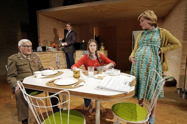 Orson Bean, Corey Brill, Carmela Corbett and Heidi Dippold