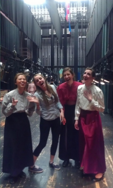 Photo Flash: Saturday Intermission Pics, April 6, Part 2 - Tom Hanks' First SIPs for LUCKY GUY and More!