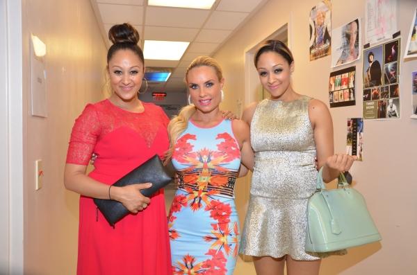 Tia Mowry, Tamera Mowry with Coco Austin