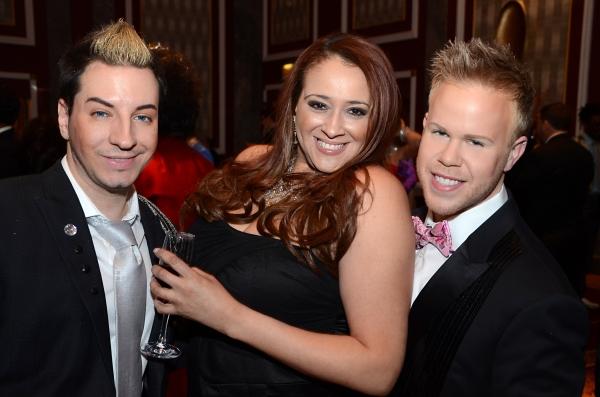 Adam Barta, Reina, Andrew Werner Photo
