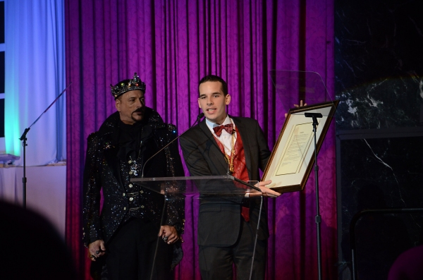 Photo Coverage: Christian Borle, Karen Mason, Tony Sheldon and More at 2013 NIGHT OF A THOUSAND GOWNS