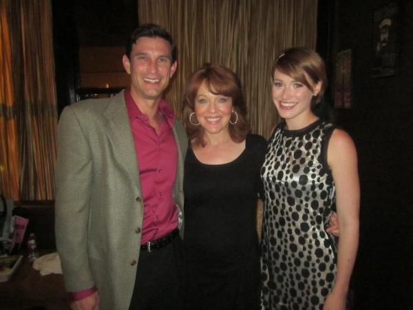 left to right: Damon Kirsche, Cynthia Ferrer, Lisa Livesay Photo