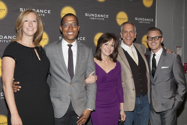 Keri Putnam, Branden Jacobs-Jenkins, Sally Field, Philip Himberg and Christopher Hibma