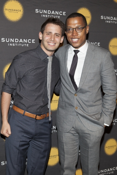 Benj Pasek and Branden Jacobs-Jenkins