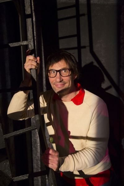 Playwright Ryan Landry  Photo