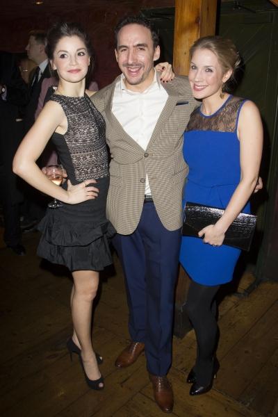 Flora Spencer-Longhurst, Jez Unwin and Miria Parvin