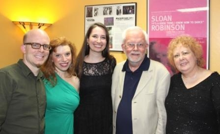 Ryan Rowles, Kristin Towers Rowles, Rebekah Hellerman, Bob Francis, Shari Barrett Photo
