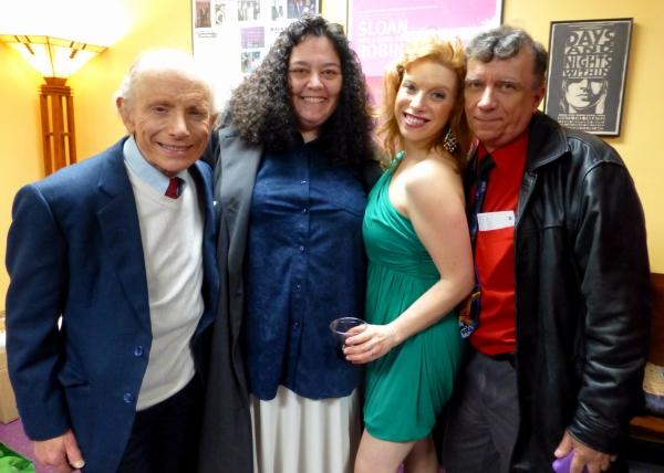 Robert Towers, Missy Nozzi, Kristin Towers Rowles, Michael-Anthony Nozzi Photo