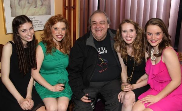 Hannah Provisor, Kristin Towers Rowles, Don Grigware, Rachel Geis, Carly Linehan Photo