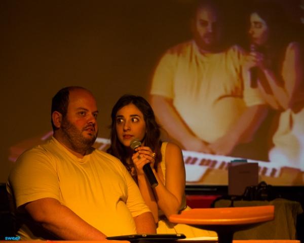 César Belda y Laura Enrech planean algo