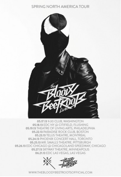 The Bloody Beetroots to Kick-Off North American Tour in May
