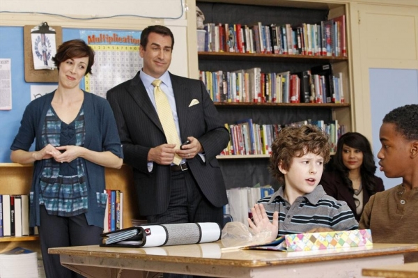 AUTUMN WITHERS, Rob Riggle, Nolan Gould Photo