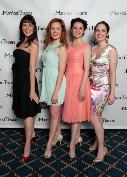 Audrey Billings, Alexandra Palkovic, Amanda Tanguay and Dara Cameron