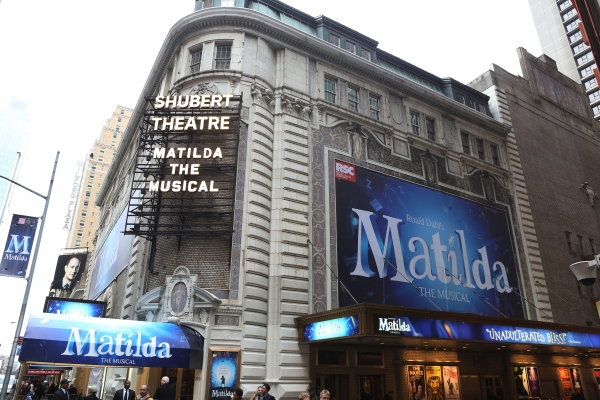 Photo Coverage: MATILDA's Starry Red Carpet Arrivals at Opening Night!