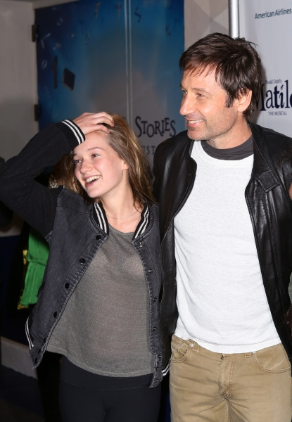 Madelaine West Duchovny & David Duchovny