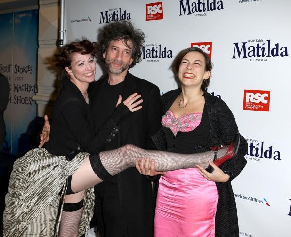 Amanda Palmer, Neil Gaiman & Maria Dahvana Headely
