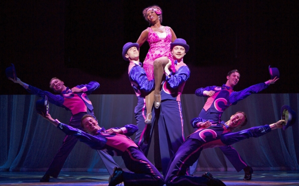 Brenda Braxton and the Company of Thoroughly Modern Millie