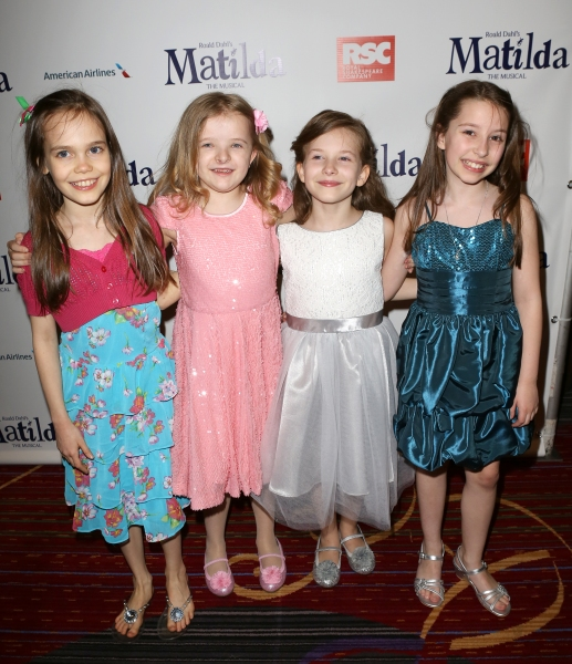 Photo Coverage: MATILDA's Cast Hits the Red Carpet for the Opening Night After Party!