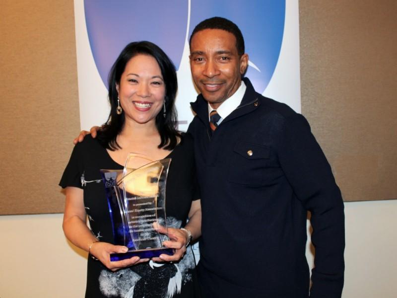Actress, Writer and Producer Christine Toy Johnson ... Rosetta Lenoire Award