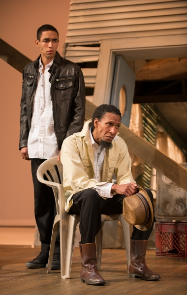 Crier (Kyle Beltran) and his father, Creaker, (Ron Cephas Jones)