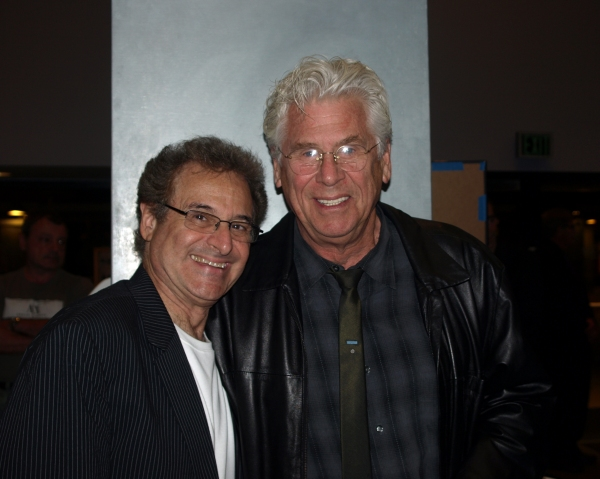 Director Barry Pearl with Barry Bostwick