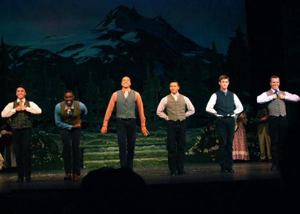 Photo Coverage: SEVEN BRIDES FOR SEVEN BROTHERS Revival Opens at La Mirada Theatre