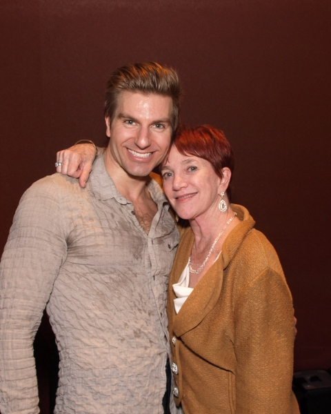 Karl Warden with Choreographer Patti Colombo Photo
