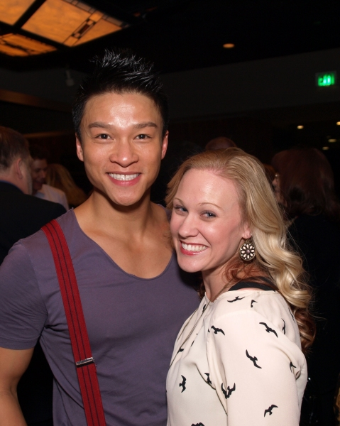 Ethan Le Phong and Shanon Mari Mills