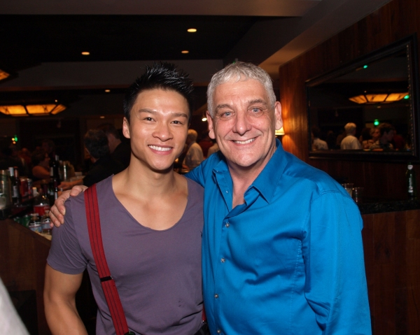 Ethan Le Phong and Director Glenn Casale Photo