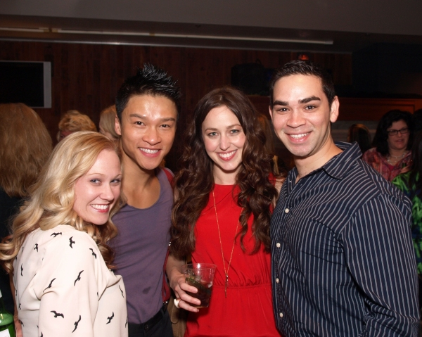 Shanon Mari Mills, Ethan Le Phong, Suzanne Schmedding, and Ryan Castellino