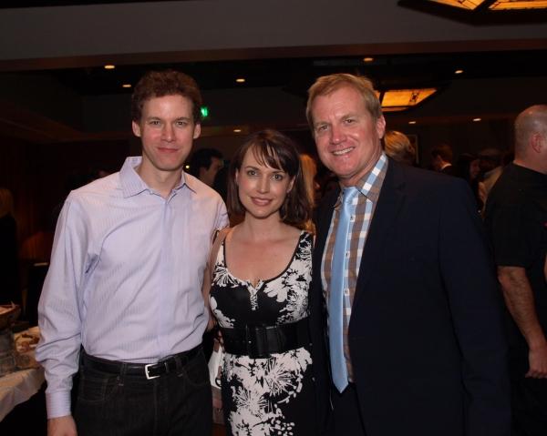 Kevin Earley, Julie Ann Emery, and Tom McCoy Photo