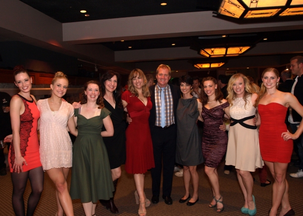 Tom McCoy with Kim Taylor, Ashley Anderson McCarthy, Natasha Harris, Kim Arnett, Beth Malone, Tro Shaw, Hannah Simmons, and Heidi Buehler