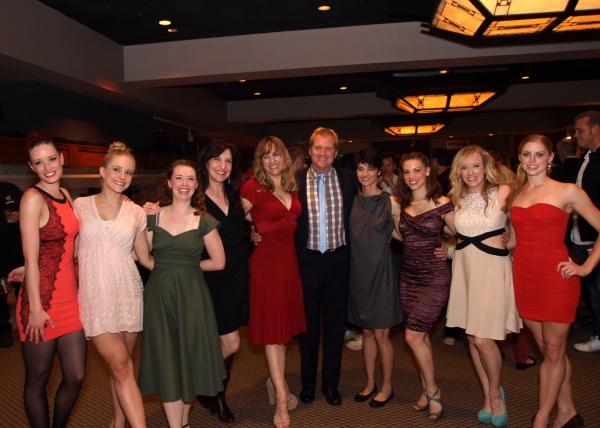Tom McCoy with Kim Taylor, Ashley Anderson McCarthy, Natasha Harris, Kim Arnett, Beth Malone, Tro Shaw, Hannah Simmons, and Heidi Buehler