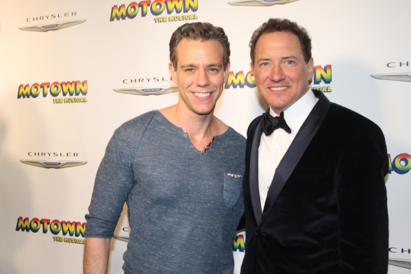 Adam Pascal and Kevin McCollum