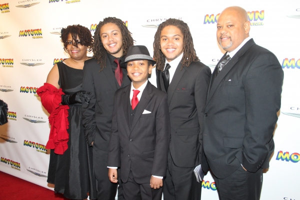 Denisse Harris, Kyle Harris, Darius Kallee, Ryan Harris and Bob Harris
