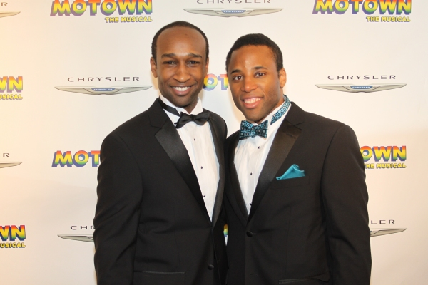 Donald Webber Jr. and Maurice Murphy Photo