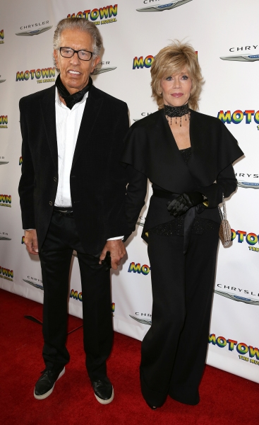 Richard Perry & Jane Fonda  Photo