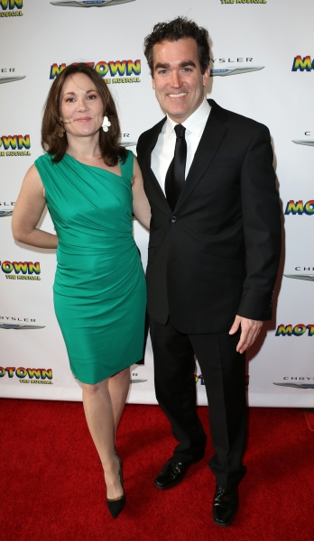 Jennifer Prescott & Brian d'Arcy James