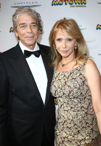 Todd Morgan and Rosanna Arquette Photo
