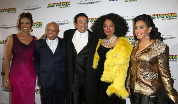 Eskedar Gobeze, Berry Gordy, Smokey Robinson, Diana Ross, Frances Glandney