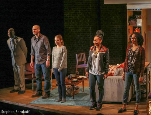 Russel G. Jones, Kelly AuCoin, Kerry Butler, Crystal Dickinson, Elisa Davis Photo