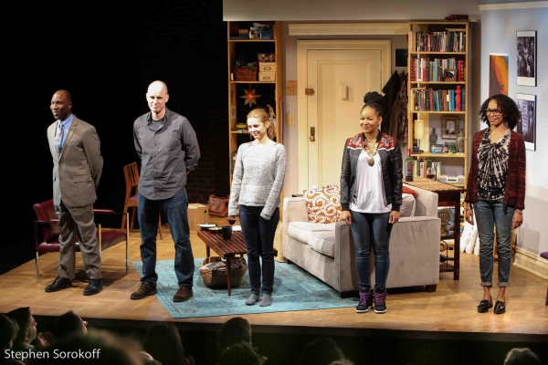 Russell G. Jones, Kelly AuCoin, Kerry Butler, Crystal Dickinson, Elisa Davis
